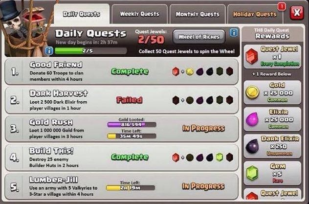 Daily-Quests