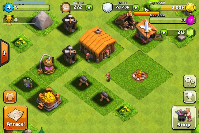 игры clash of clans играть